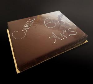 Entremets 3 chocolats
